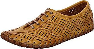 Gemini Damen Sommer Schuhe Gelb Schuhe Leder 31210-02-006