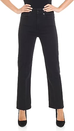 7 For All Mankind High waisted black jeans