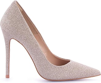 Paula Brazil Scarpin Grazi 930-80030/999-80562/955-80138 Glitter Nude (Duke New) Nude - 39