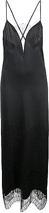 Kiki De Montparnasse lace inset gown - Black