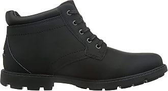 Rockport Storm Surge Plain Toe, Mens Boots, Black, 10 UK (44.5 EU)