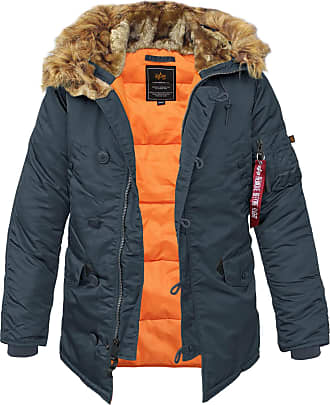 Alpha Industries N3B VF 59 Fliegerparka repl.-blue, Größe 3XL