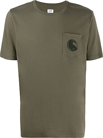 C.P. Company Lens print relaxed-fit T-shirt - Verde