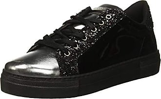 Guess Carol, Chaussures de Gymnastique Femme, Noir Black, 41 EU 3dc65cd540c