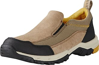 Ariat Mens Skyline Slip-On Shoes in Tan, D Medium Width, Size 10.5, by Ariat
