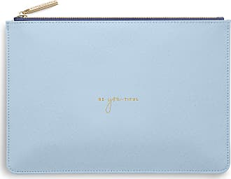 Katie Loxton COLOR POP PERFECT POUCH - BE YOU TIFUL - Sky Blue - 16 x 24 cm