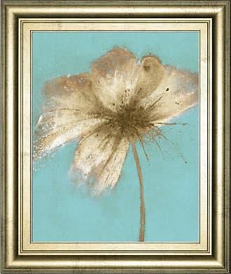 Classy Art Floral Burst IV Framed Wall Art - 8318