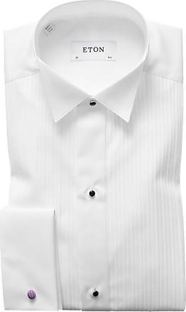 Eton Festliches Hemd mit Biesen-Struktur, Contemporary Fit von Eton in Weiss für Herren