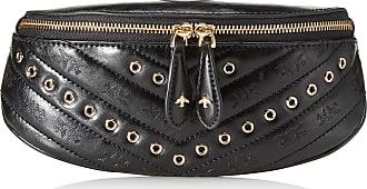 Pinko Bum Classic Eyelets Fl Vintage Womens Cross-Body Bag, Black (Azzurro Cic. India), 8x9.5x22 Centimeters (W x H x L)