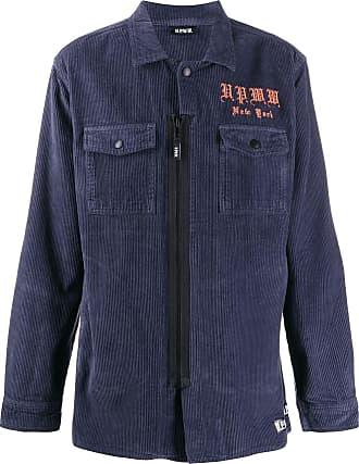 U.P.W.W. Camicia con ricamo - Di colore blu