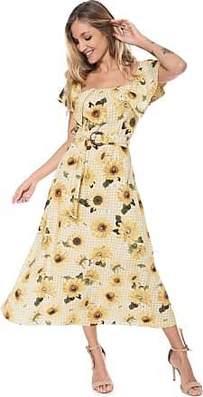 9032d1be1 Amarelo Vestidos: 15 Produtos & com até −57%   Stylight
