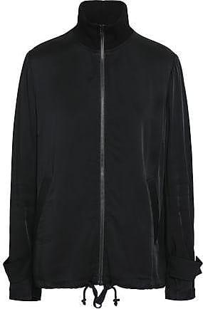 A.L.C. A.l.c. Woman Monico Bead-embellished Sateen Turtleneck Jacket Black Size 10