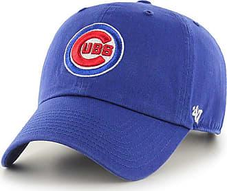 47 Brand 47 MLB Chicago Cubs CLEAN UP Cap - 100% Garment Washed Cotton Relaxed Fit Unisex Baseball Cap Premium Quality Design and Craftsmanship by Generational