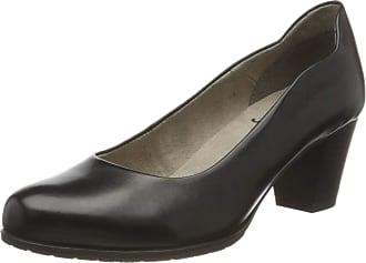 Jana Womens 8-8-22404-24 Closed Toe Heels, Black 001, 6 UK