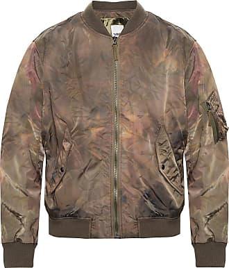 Yves Salomon Bomber Jacket Mens Green