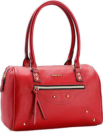 Chenson Bolsa Feminina Chenson Perfuros Vermelha - Vermelho