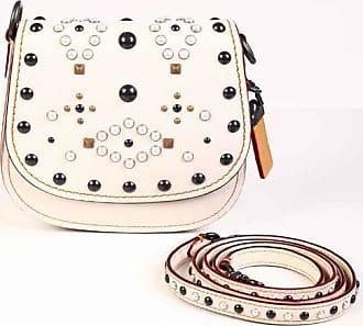 Coach Studded Leather Saddle Bag size Unica