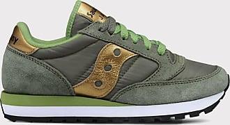 Reposi Calzature SAUCONY Sneakers verde oro - numero 38