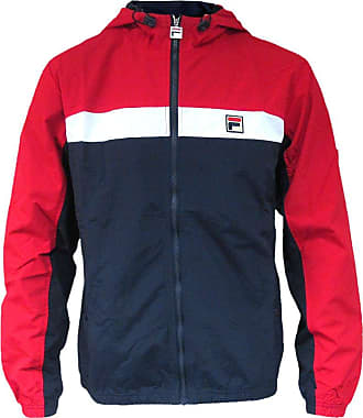 7e58c2d4334d Fila Vintage Mens Clipper Panelled Jacket, Blue, X-Large