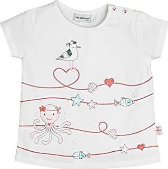 SALT AND PEPPER Baby-M/ädchen Mit Maritimen Glitzerdruck T-Shirt