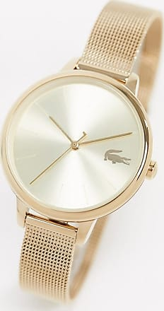 Lacoste gold mesh watch 2001128