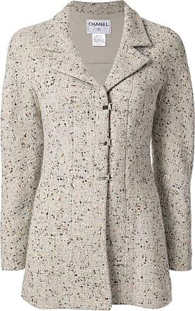 Chanel tweed long sleeve jacket - Grey