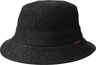 c369822a Kangol Mens Quilted Denim Hunter Bucket HAT, Black, M