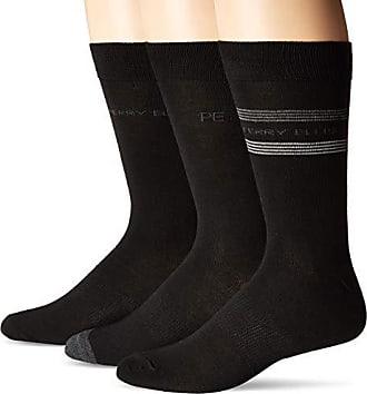 c9253f2daa Perry Ellis Mens Portfolio Assorted 6 PK Casual Comfort Argyle Socks