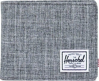 Herschel Herschel Roy Coin RFID Wallet Raven Crosshatch