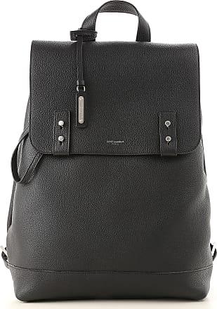 1bccc35fd Saint Laurent Backpack for Men, Black, Leather, 2017, one size