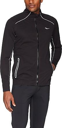 Saucony Vigor Waterproof Running Jacket - Large Black