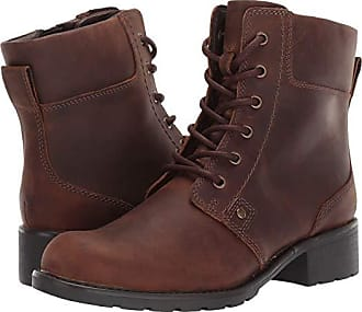 Women S Clarks Leather Boots Now Up To 37 Stylight