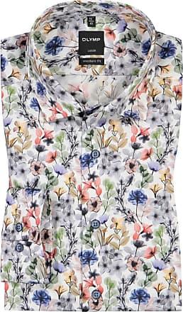 Olymp Luxor Modern Fit, Oberhemd mit extra langem Arm von Olymp in Weiss für Herren