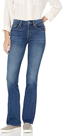 7 For All Mankind Womens Kimmie Bootcut in, Rich Coastal Blue, 29