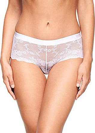 edf95d2899abf Chantelle DE Everyday Lace Boxer, Blanc (Weiß 10), 44 (Taille Fabricant