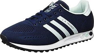 quality design c7cb7 19ac4 adidas Herren LA Trainer EM Sneaker Blau (Collegiate Navy Ice Mint FTWR  White