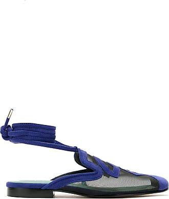 Blue Bird Shoes Slip on Rubem Valentim em tela - Azul