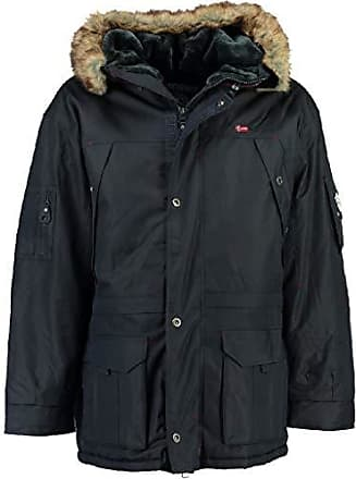 372d9ee339a2b7 Geographical Norway Abiosaure Herren Winter Jacke Parka Parker Navy Gr. XL