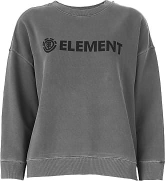 Element Moletom Fechado Element Logo Grafite