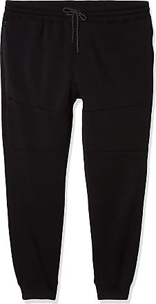 Black Southpole Mens big-tall Active Basic Jogger Fleece Pants 3XL,