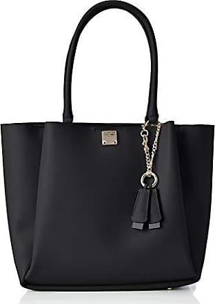 GUESS Shopper 'Leila Carryall' schwarz weiß | Taschen damen
