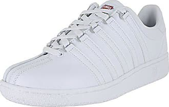 K-Swiss Mens VN Heritage Sneaker, White/Classic Blue/Ribbon red, 12 M US