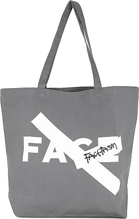 Facetasm Factasm tote bag - Cinza