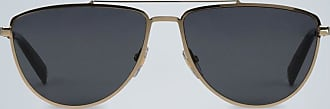 Givenchy Gold oval sunglasses