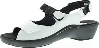 Wolky Womens Sandals Ela White Marinica 3474310 Multicolour Size: 9 UK