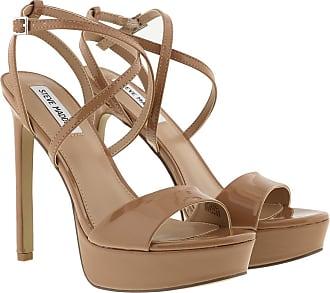 Steve Madden Sandals - Stunning Sandal Camel Patent - brown - Sandals for ladies