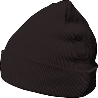 DonDon winter hat beanie warm classical design modern and soft lava grey-brown