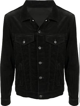 Kent & Curwen cord denim jacket - Black