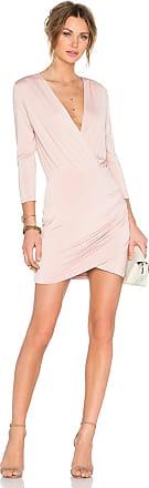 Lovers + Friends Love Happy Dress in Pink
