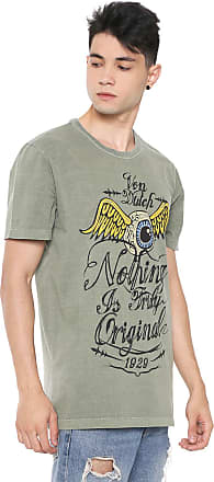 Von Dutch Camiseta Von Dutch Nothing Is Truly Verde